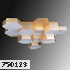 750123 (MX13003032-12А) Люстра  LED-60W Satin Gold