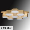 750163 (MX13003032-16А) Люстра  LED-80W Satin Gold